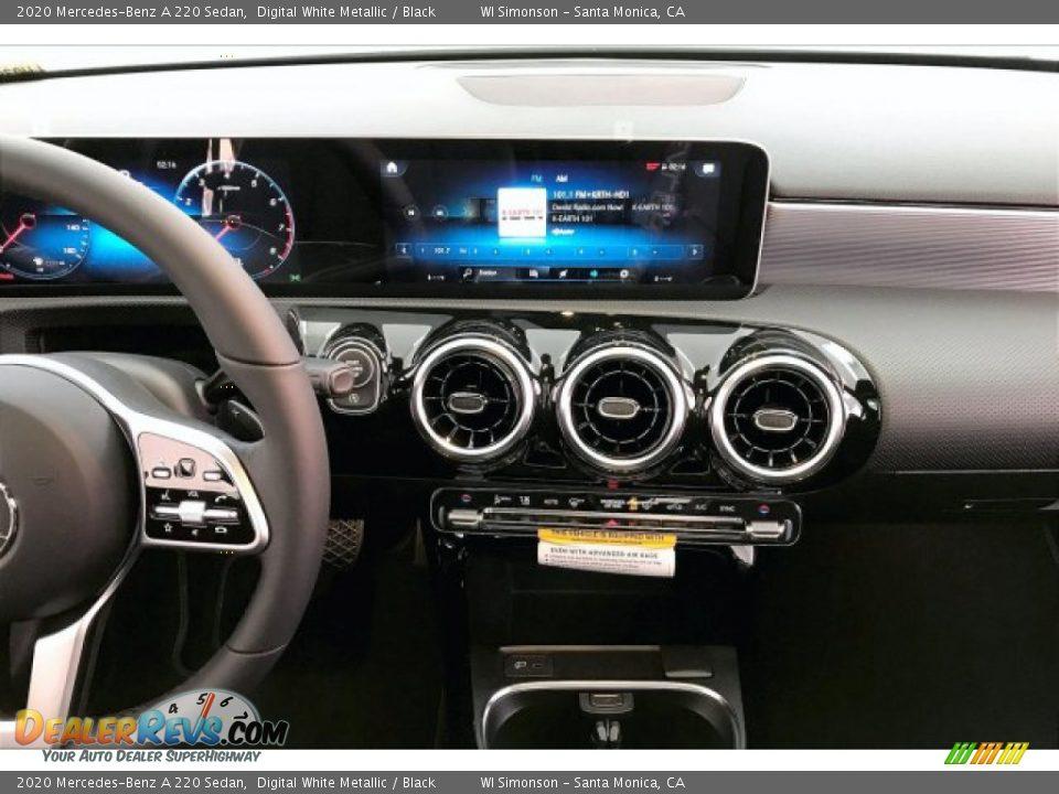 2020 Mercedes-Benz A 220 Sedan Digital White Metallic / Black Photo #8