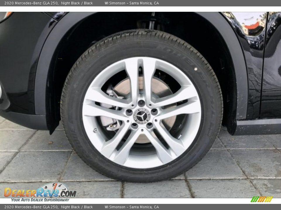 2020 Mercedes-Benz GLA 250 Night Black / Black Photo #11