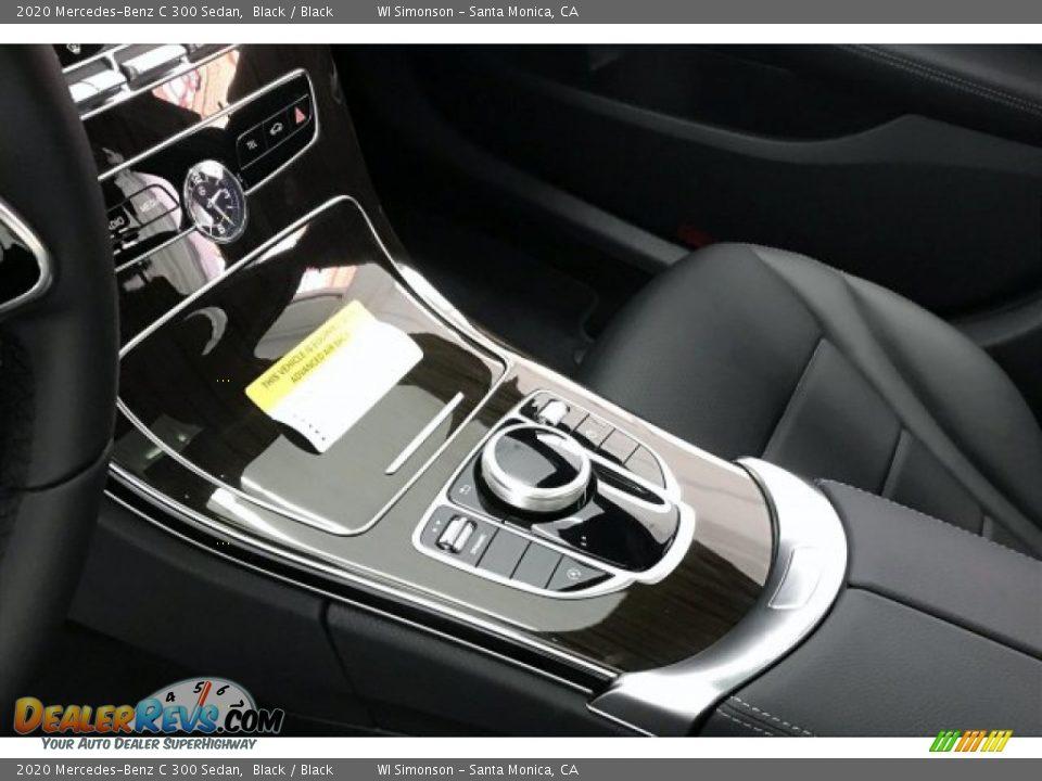 2020 Mercedes-Benz C 300 Sedan Black / Black Photo #9