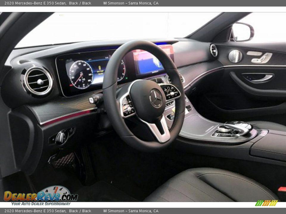 2020 Mercedes-Benz E 350 Sedan Black / Black Photo #6