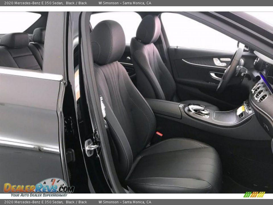 2020 Mercedes-Benz E 350 Sedan Black / Black Photo #7