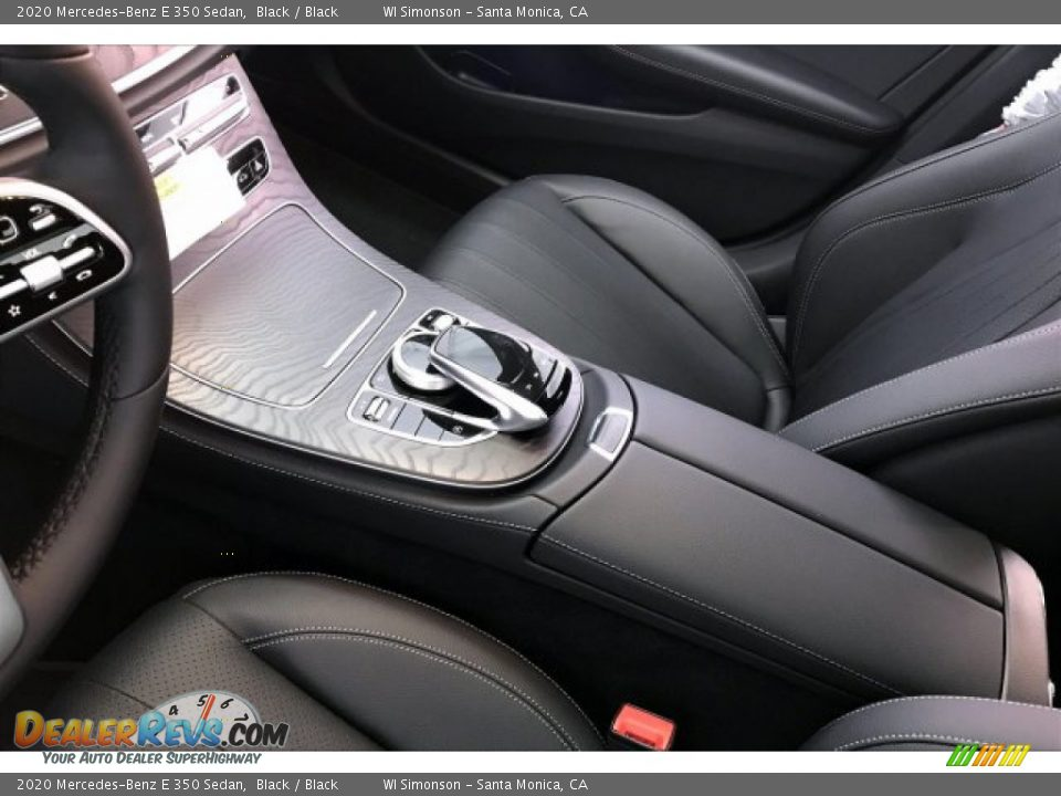2020 Mercedes-Benz E 350 Sedan Black / Black Photo #9