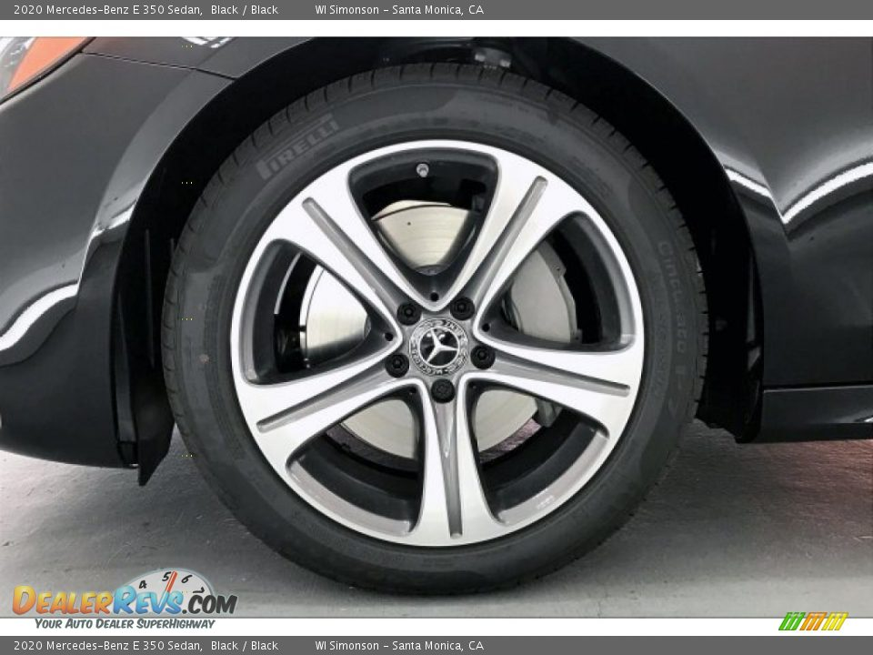 2020 Mercedes-Benz E 350 Sedan Black / Black Photo #11