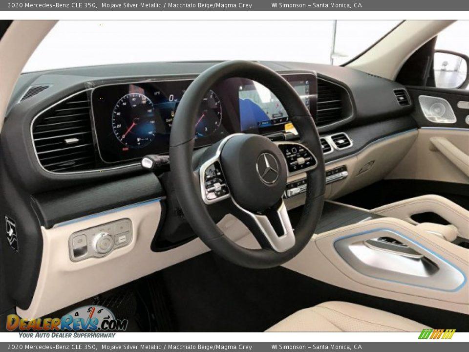 2020 Mercedes-Benz GLE 350 Mojave Silver Metallic / Macchiato Beige/Magma Grey Photo #4