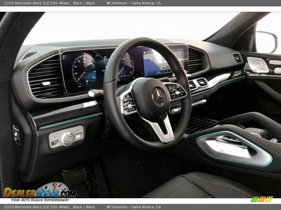 2020 Mercedes-Benz GLE 580 4Matic Black / Black Photo #4