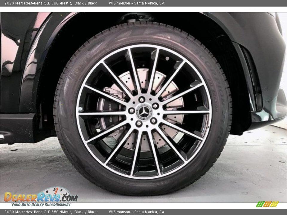 2020 Mercedes-Benz GLE 580 4Matic Black / Black Photo #9