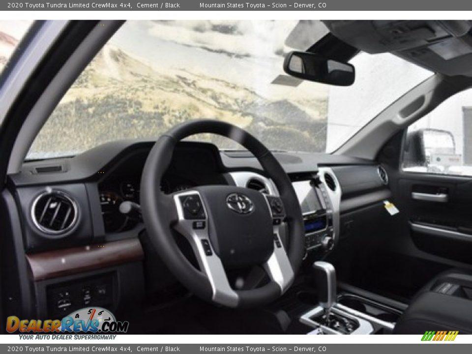 2020 Toyota Tundra Limited CrewMax 4x4 Cement / Black Photo #5