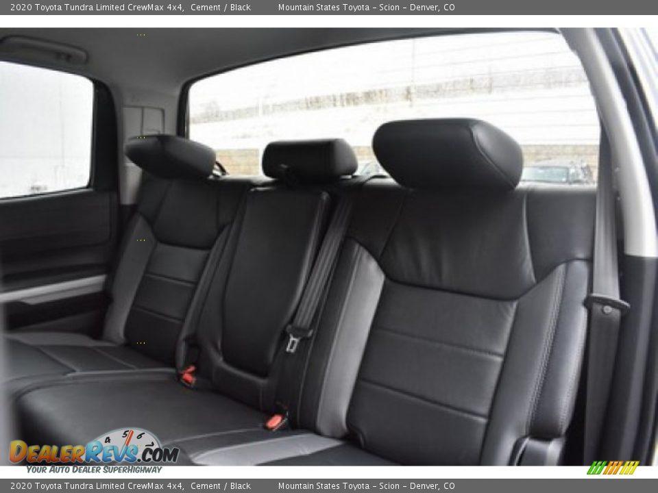 2020 Toyota Tundra Limited CrewMax 4x4 Cement / Black Photo #10