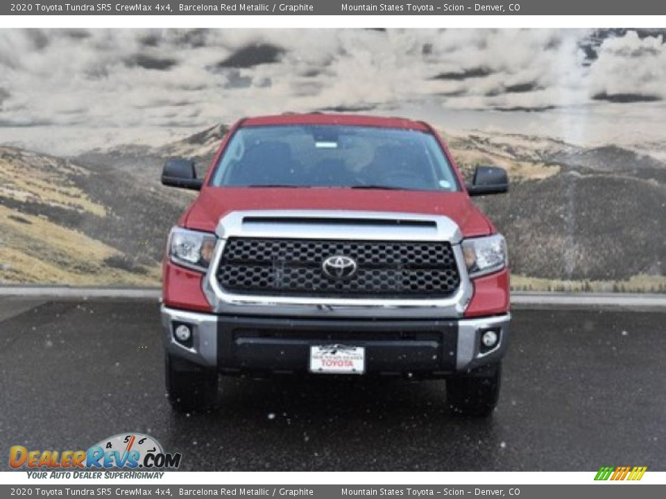 2020 Toyota Tundra SR5 CrewMax 4x4 Barcelona Red Metallic / Graphite Photo #2
