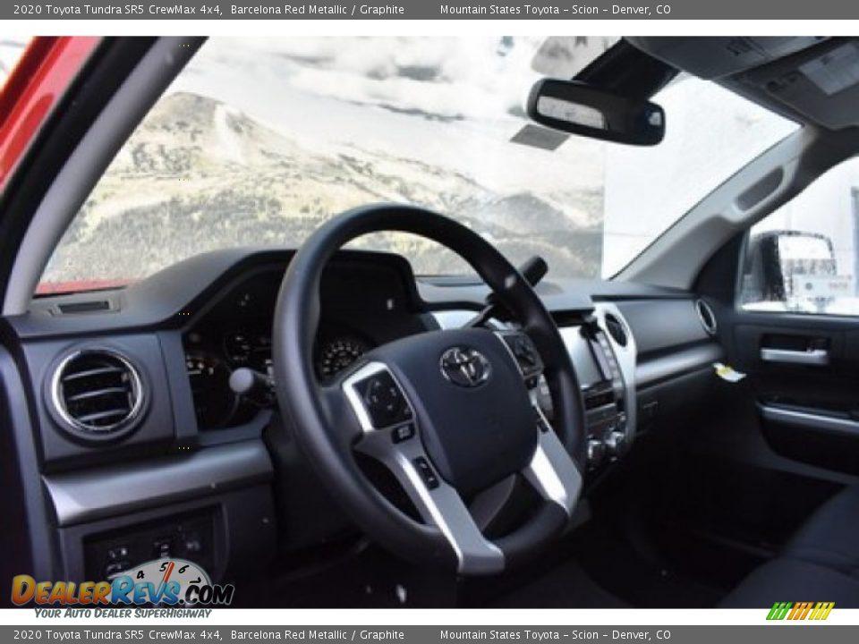 2020 Toyota Tundra SR5 CrewMax 4x4 Barcelona Red Metallic / Graphite Photo #5