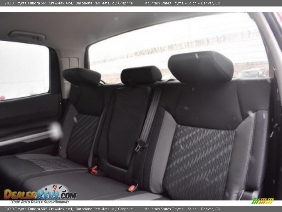 2020 Toyota Tundra SR5 CrewMax 4x4 Barcelona Red Metallic / Graphite Photo #9