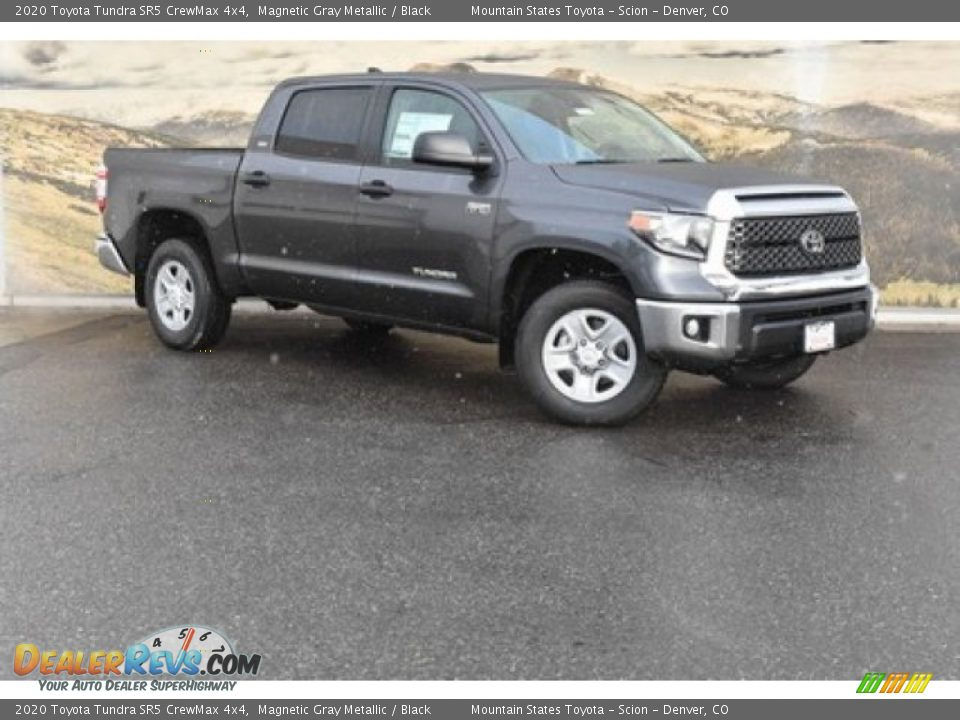2020 Toyota Tundra SR5 CrewMax 4x4 Magnetic Gray Metallic / Black Photo #1