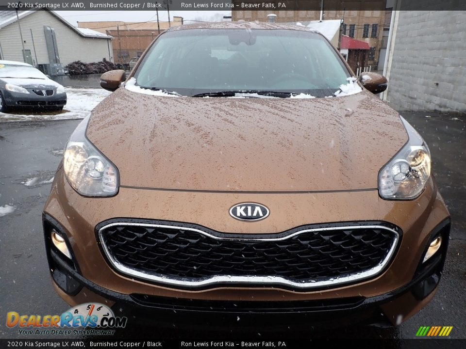 2020 Kia Sportage LX AWD Burnished Copper / Black Photo #8