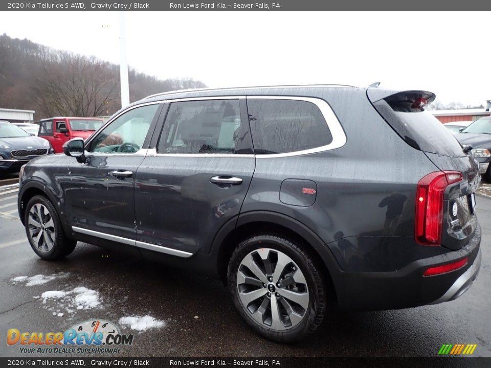 2020 Kia Telluride S AWD Gravity Grey / Black Photo #5