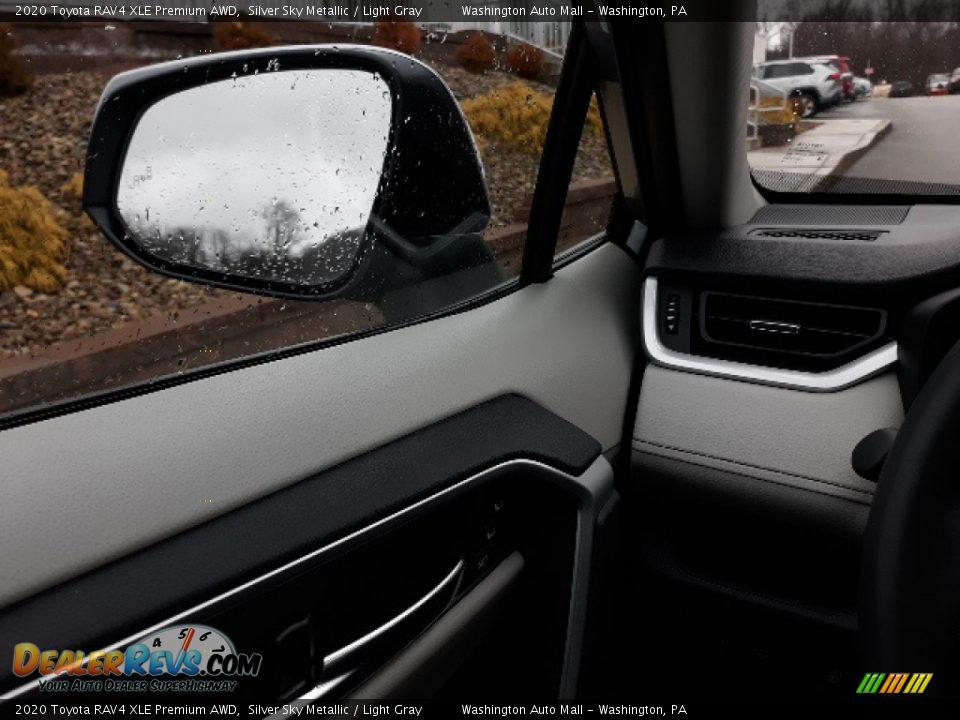 2020 Toyota RAV4 XLE Premium AWD Silver Sky Metallic / Light Gray Photo #7