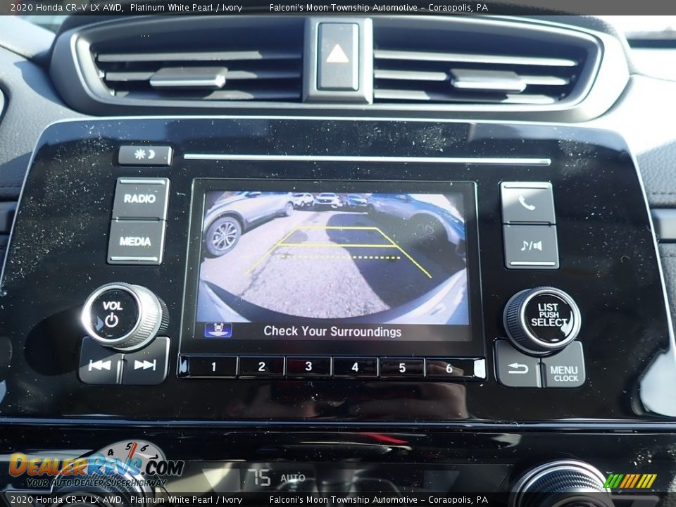 2020 Honda CR-V LX AWD Platinum White Pearl / Ivory Photo #13