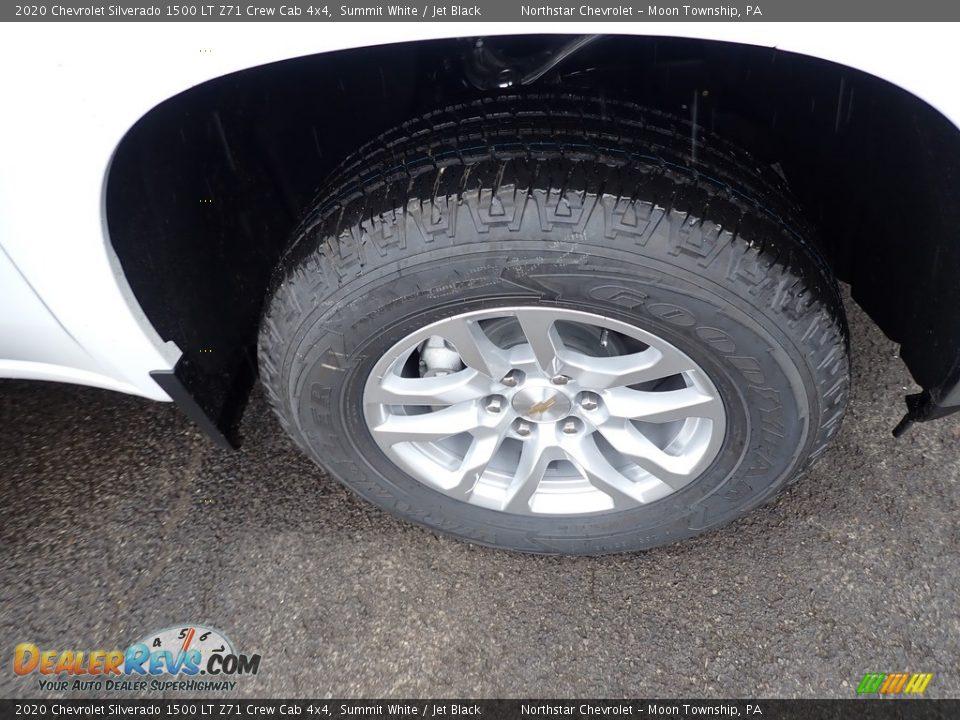 2020 Chevrolet Silverado 1500 LT Z71 Crew Cab 4x4 Summit White / Jet Black Photo #8