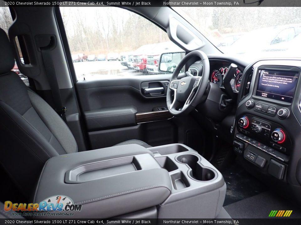 2020 Chevrolet Silverado 1500 LT Z71 Crew Cab 4x4 Summit White / Jet Black Photo #10