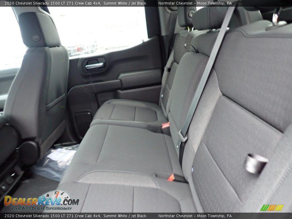 2020 Chevrolet Silverado 1500 LT Z71 Crew Cab 4x4 Summit White / Jet Black Photo #12