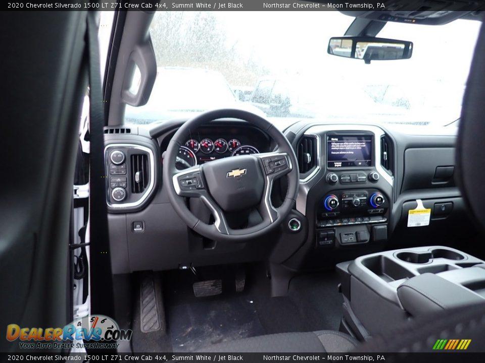 2020 Chevrolet Silverado 1500 LT Z71 Crew Cab 4x4 Summit White / Jet Black Photo #13