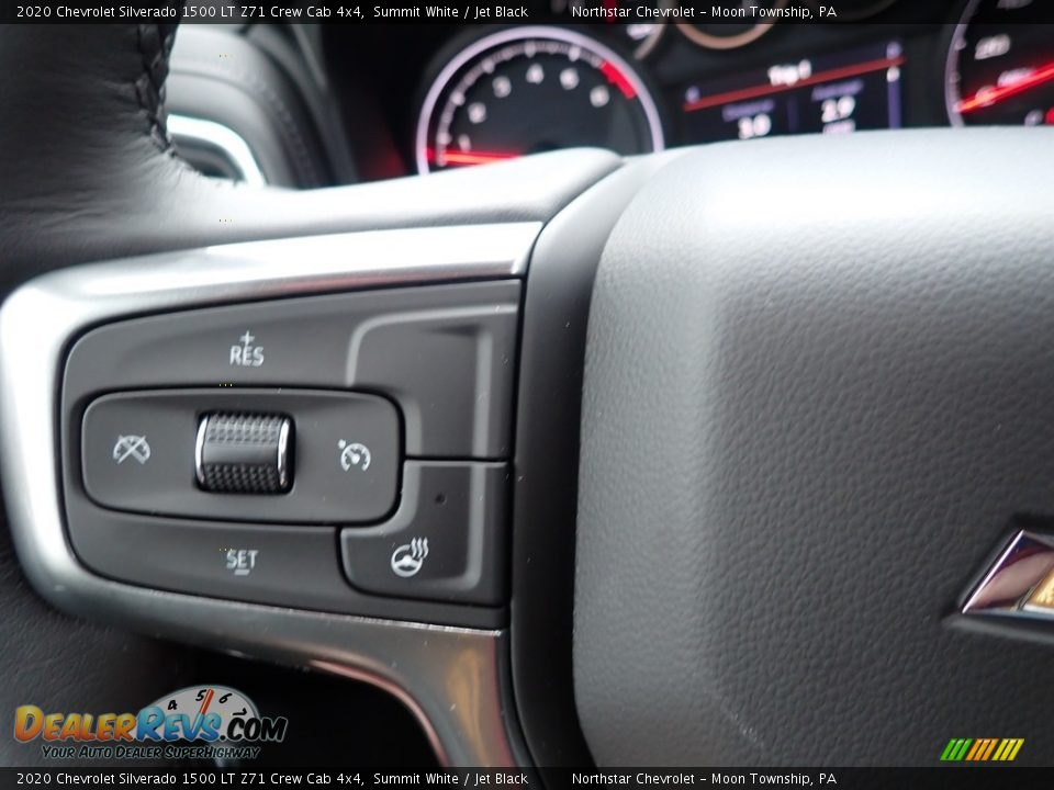 2020 Chevrolet Silverado 1500 LT Z71 Crew Cab 4x4 Summit White / Jet Black Photo #20