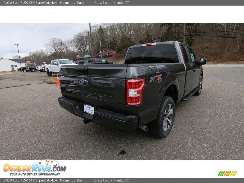 2020 Ford F150 STX SuperCab 4x4 Magnetic / Black Photo #7