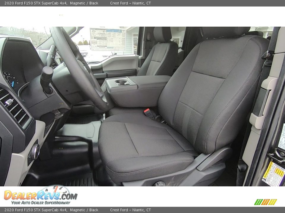 2020 Ford F150 STX SuperCab 4x4 Magnetic / Black Photo #11
