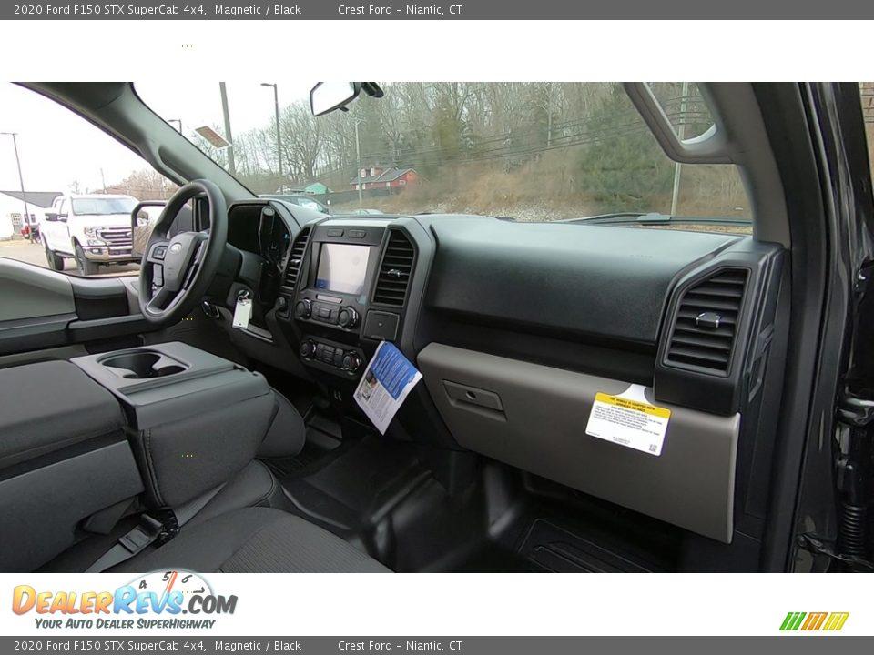 2020 Ford F150 STX SuperCab 4x4 Magnetic / Black Photo #24