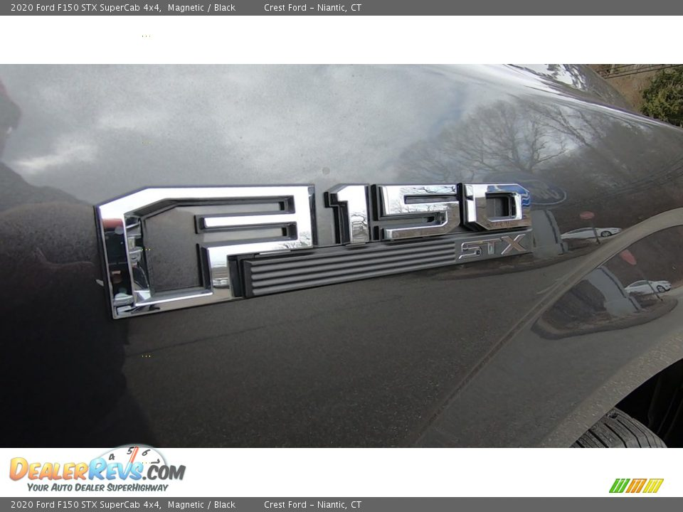 2020 Ford F150 STX SuperCab 4x4 Magnetic / Black Photo #25