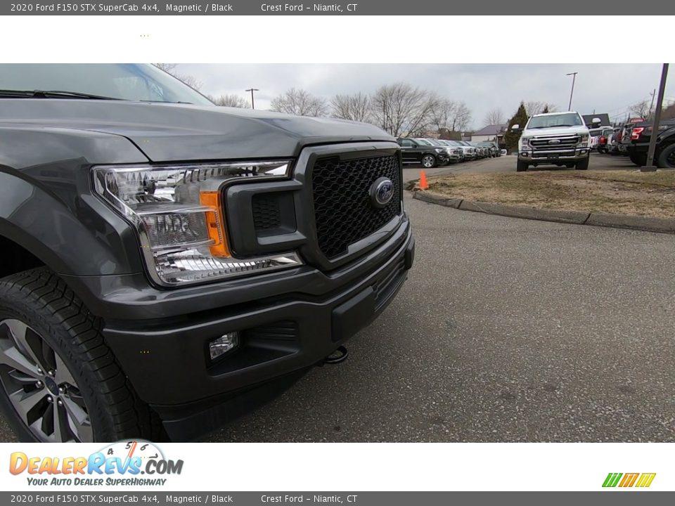2020 Ford F150 STX SuperCab 4x4 Magnetic / Black Photo #27