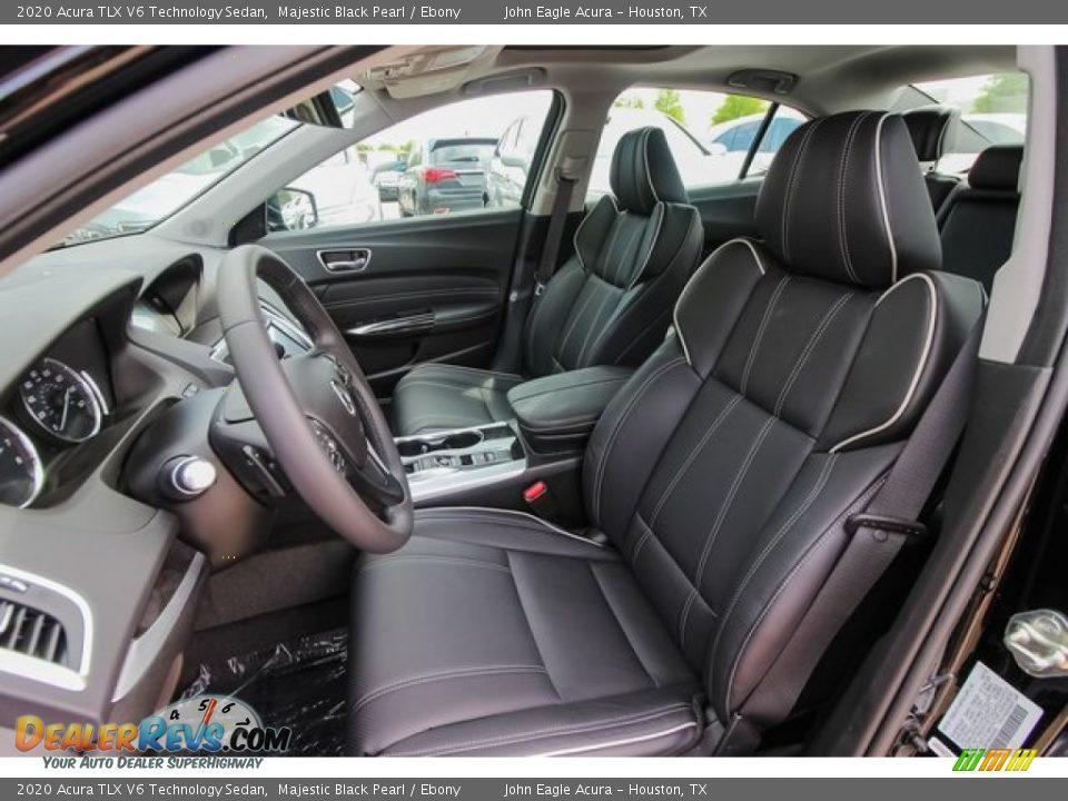 2020 Acura TLX V6 Technology Sedan Majestic Black Pearl / Ebony Photo #16