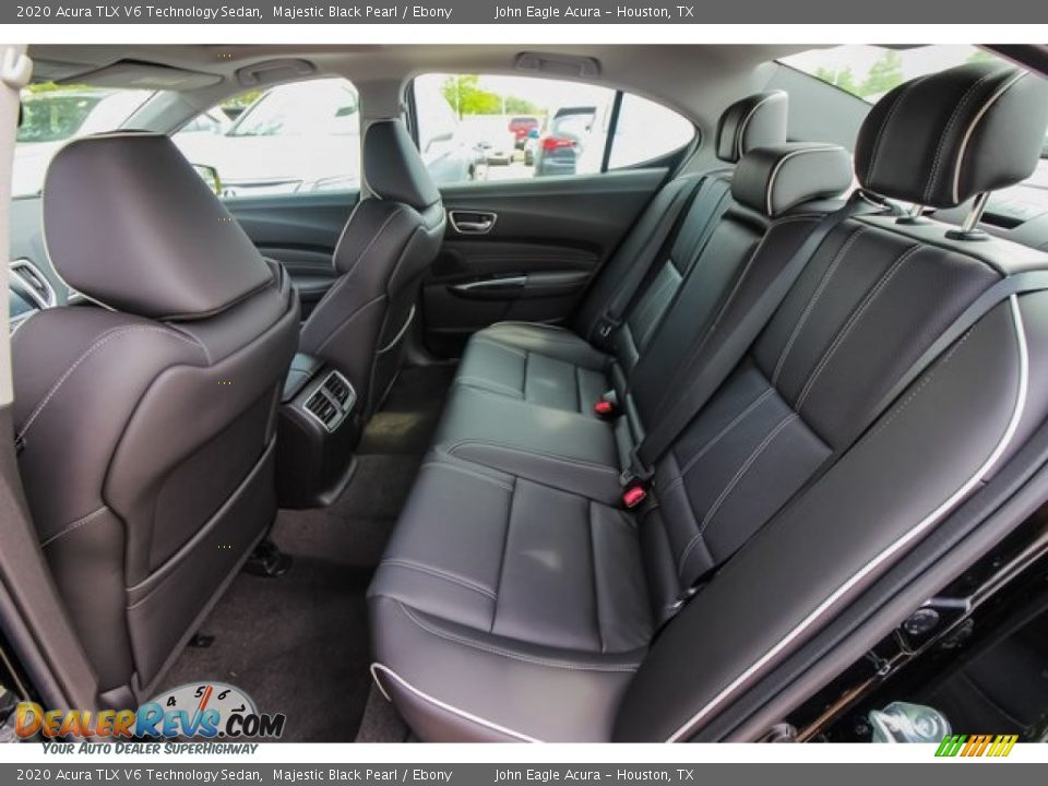 2020 Acura TLX V6 Technology Sedan Majestic Black Pearl / Ebony Photo #18