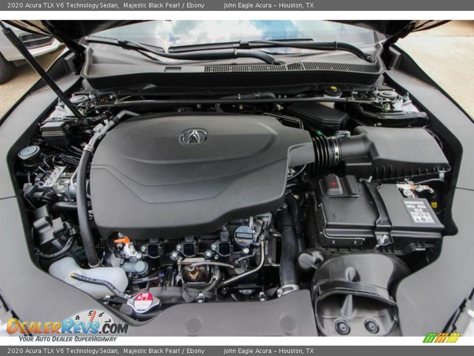 2020 Acura TLX V6 Technology Sedan Majestic Black Pearl / Ebony Photo #24