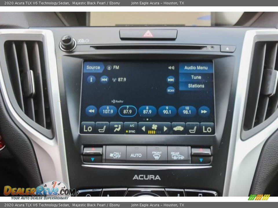 2020 Acura TLX V6 Technology Sedan Majestic Black Pearl / Ebony Photo #29