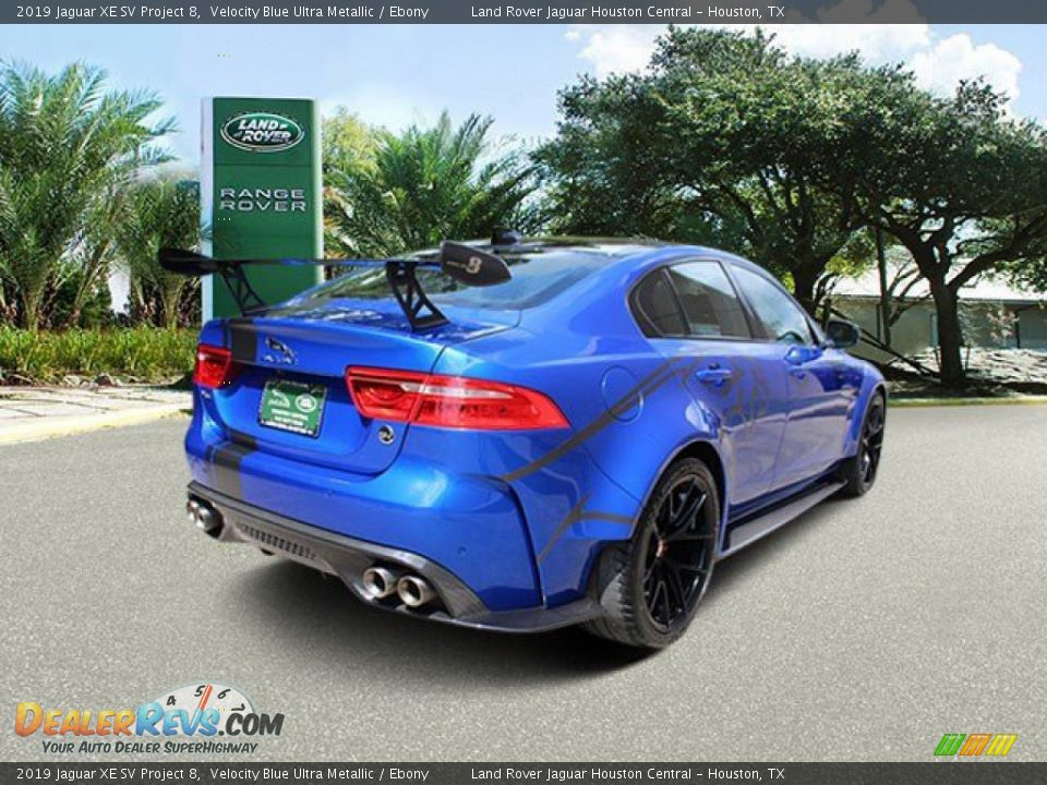 Velocity Blue Ultra Metallic 2019 Jaguar XE SV Project 8 Photo #2