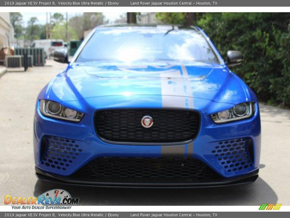 Velocity Blue Ultra Metallic 2019 Jaguar XE SV Project 8 Photo #8