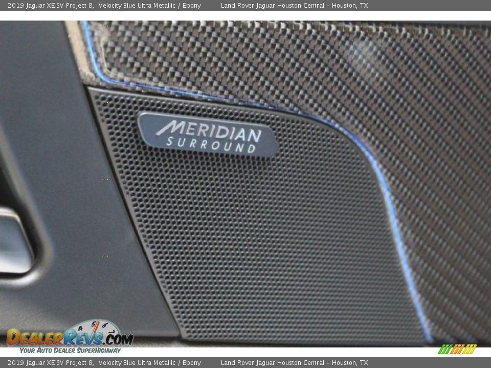 2019 Jaguar XE SV Project 8 Velocity Blue Ultra Metallic / Ebony Photo #11