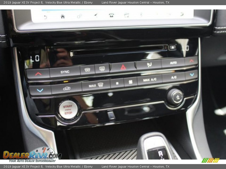 Controls of 2019 Jaguar XE SV Project 8 Photo #17