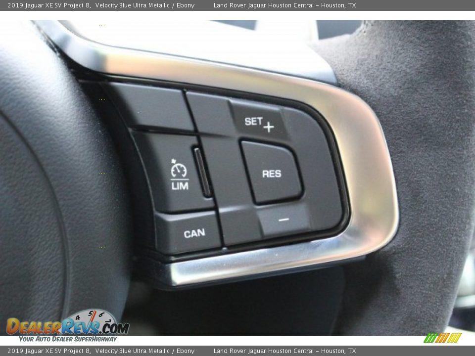 2019 Jaguar XE SV Project 8 Steering Wheel Photo #23