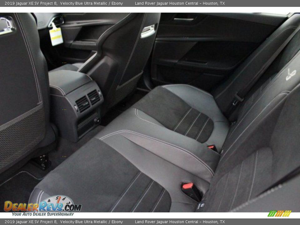 Rear Seat of 2019 Jaguar XE SV Project 8 Photo #29