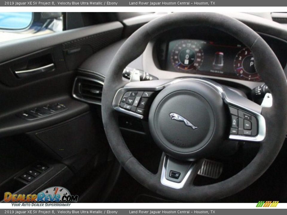 2019 Jaguar XE SV Project 8 Steering Wheel Photo #31