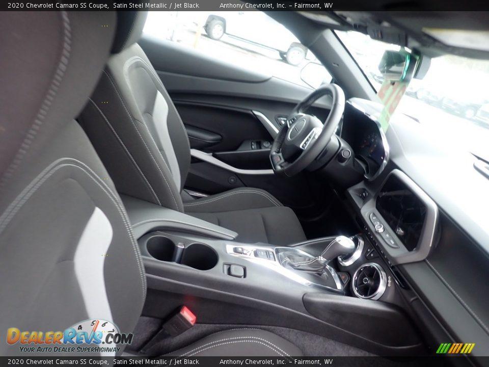 2020 Chevrolet Camaro SS Coupe Satin Steel Metallic / Jet Black Photo #11