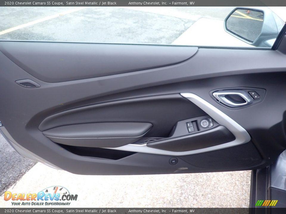 2020 Chevrolet Camaro SS Coupe Satin Steel Metallic / Jet Black Photo #15