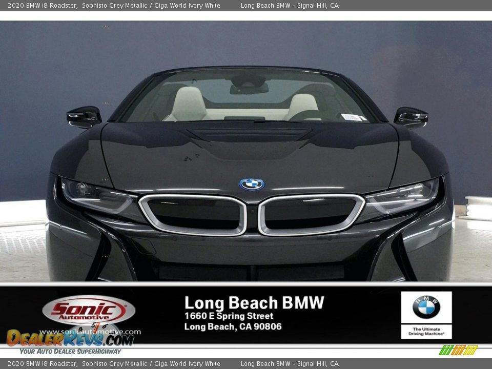 2020 BMW i8 Roadster Sophisto Grey Metallic / Giga World Ivory White Photo #2