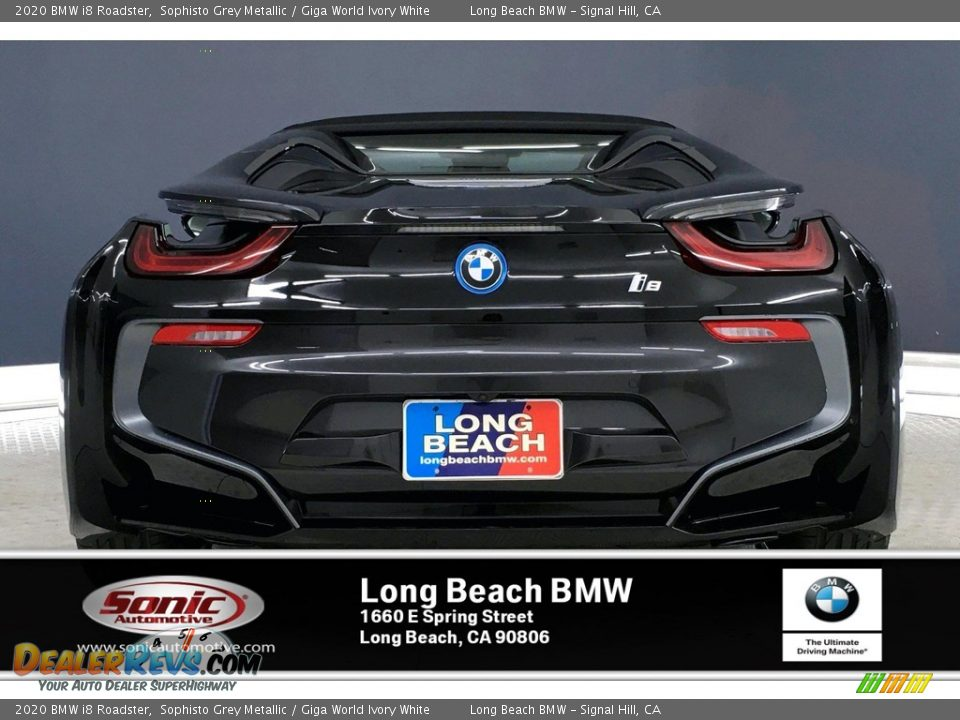 2020 BMW i8 Roadster Sophisto Grey Metallic / Giga World Ivory White Photo #4