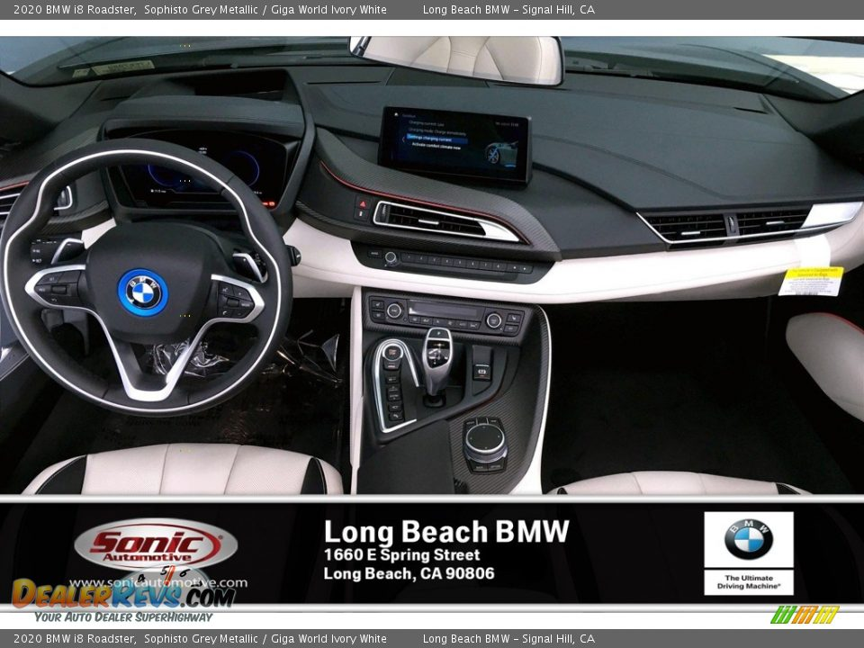 2020 BMW i8 Roadster Sophisto Grey Metallic / Giga World Ivory White Photo #5