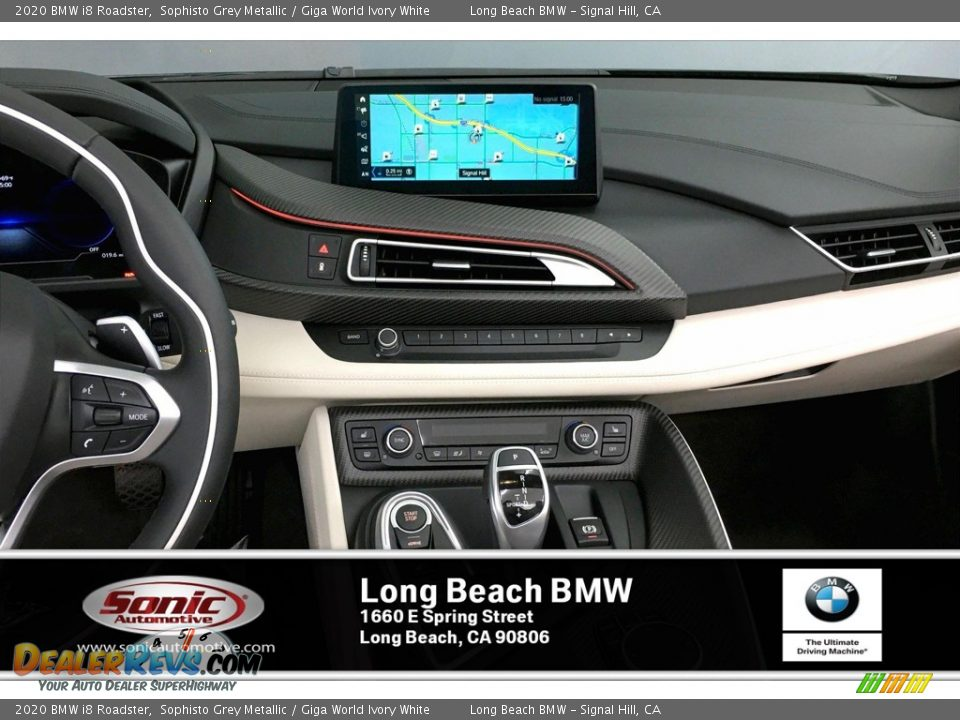2020 BMW i8 Roadster Sophisto Grey Metallic / Giga World Ivory White Photo #6