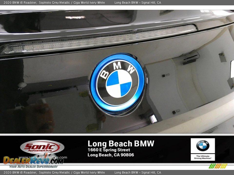 2020 BMW i8 Roadster Sophisto Grey Metallic / Giga World Ivory White Photo #16