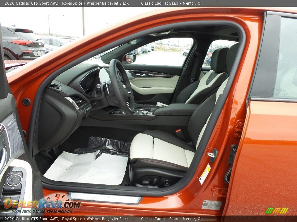 2020 Cadillac CT5 Sport AWD Royal Spice / Whisper Beige/Jet Black Photo #3