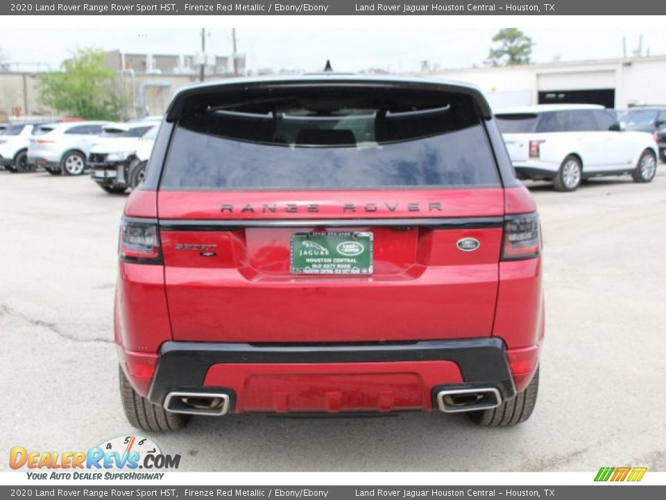 2020 Land Rover Range Rover Sport HST Firenze Red Metallic / Ebony/Ebony Photo #7